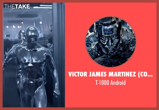 Victor James Martinez (Concept Artist) android from Terminator: Genisys seen with Byung-hun Lee (T-1000)