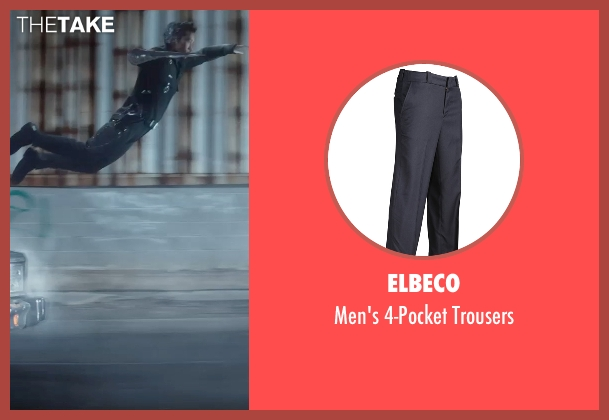 Elbeco blue trousers from Terminator: Genisys seen with Byung-hun Lee (T-1000)