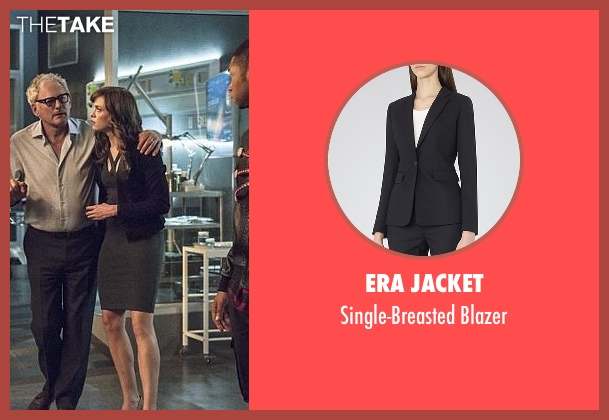 Era Jacket black blazer from The Flash seen with Caitlin Snow / Killer Frost (Danielle Panabaker)