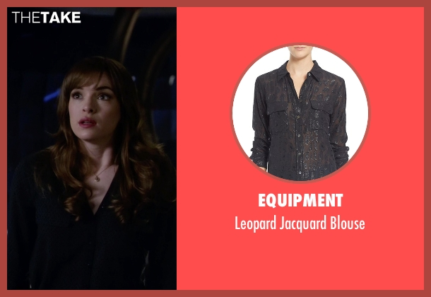 Equipment black blouse from The Flash seen with Caitlin Snow / Killer Frost (Danielle Panabaker)