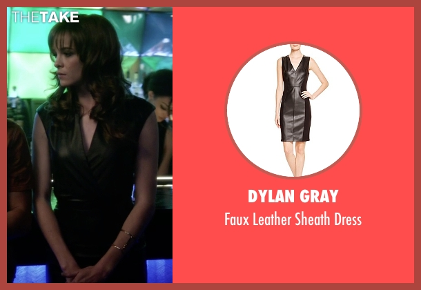 Dylan Gray black dress from The Flash seen with Caitlin Snow / Killer Frost (Danielle Panabaker)