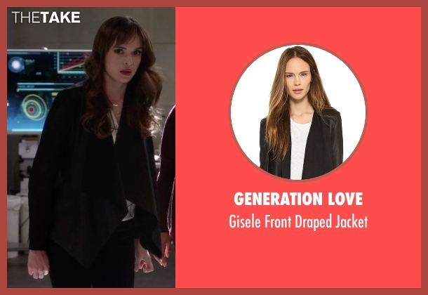 Generation Love black jacket from The Flash seen with Caitlin Snow / Killer Frost (Danielle Panabaker)