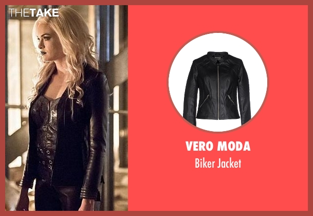 Vero Moda black jacket from The Flash seen with Caitlin Snow / Killer Frost (Danielle Panabaker)