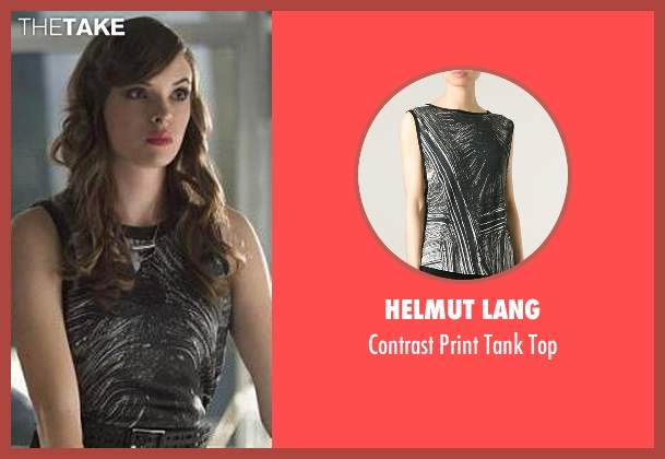 Helmut Lang black top from The Flash seen with Caitlin Snow / Killer Frost (Danielle Panabaker)