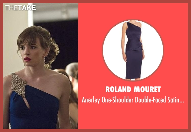 Roland Mouret blue dress from The Flash seen with Caitlin Snow / Killer Frost (Danielle Panabaker)