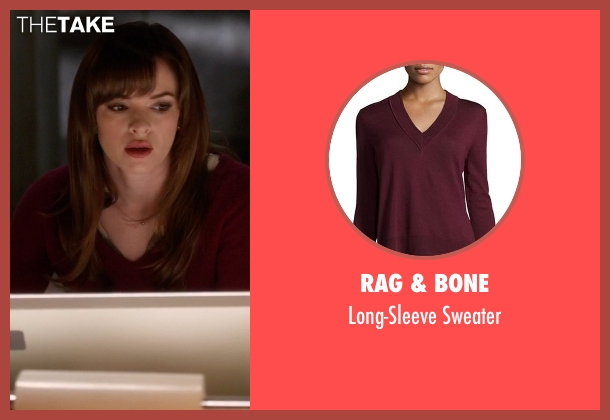 Rag & Bone red sweater from The Flash seen with Caitlin Snow / Killer Frost (Danielle Panabaker)