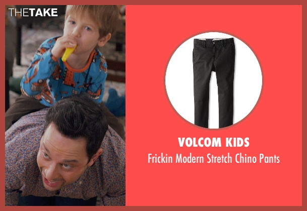 Volcom Kids black pants from Adult Beginners seen with Caleb and Matthew Paddock (Teddy)