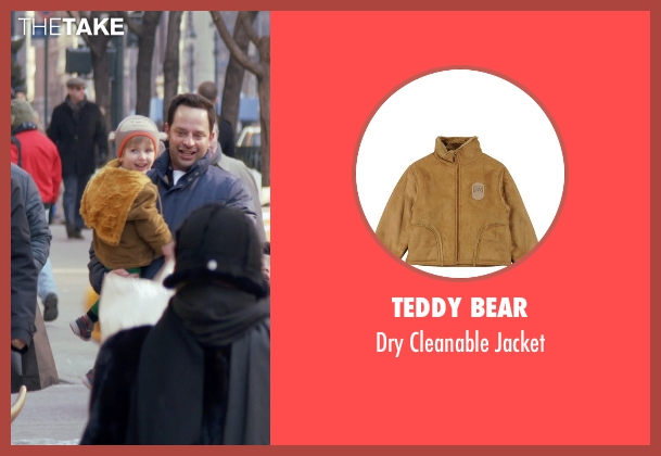 Teddy Bear brown jacket from Adult Beginners seen with Caleb and Matthew Paddock (Teddy)