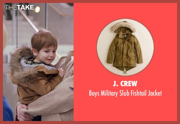 J. Crew brown jacket from Adult Beginners seen with Caleb and Matthew Paddock (Teddy)