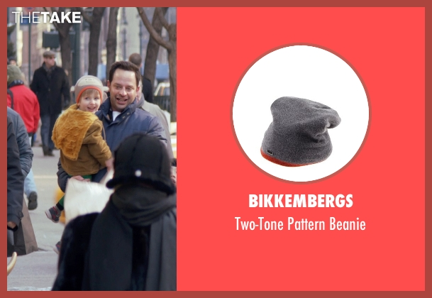 Bikkembergs gray beanie from Adult Beginners seen with Caleb and Matthew Paddock (Teddy)
