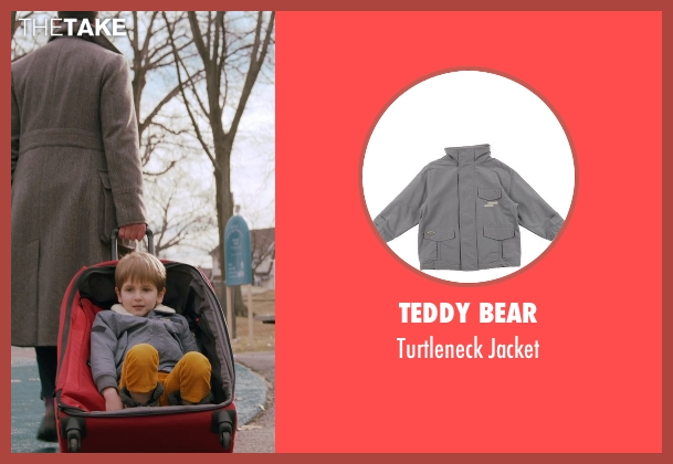 Teddy Bear gray jacket from Adult Beginners seen with Caleb and Matthew Paddock (Teddy)