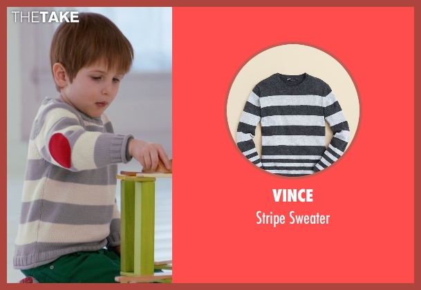 Vince gray sweater from Adult Beginners seen with Caleb and Matthew Paddock (Teddy)