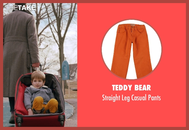 Teddy Bear orange pants from Adult Beginners seen with Caleb and Matthew Paddock (Teddy)
