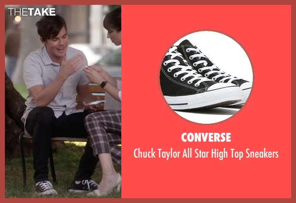 Converse black sneakers from Pretty Little Liars seen with Caleb Rivers (Tyler Blackburn)