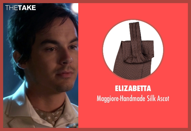 Elizabetta brown ascot from Pretty Little Liars seen with Caleb Rivers (Tyler Blackburn)