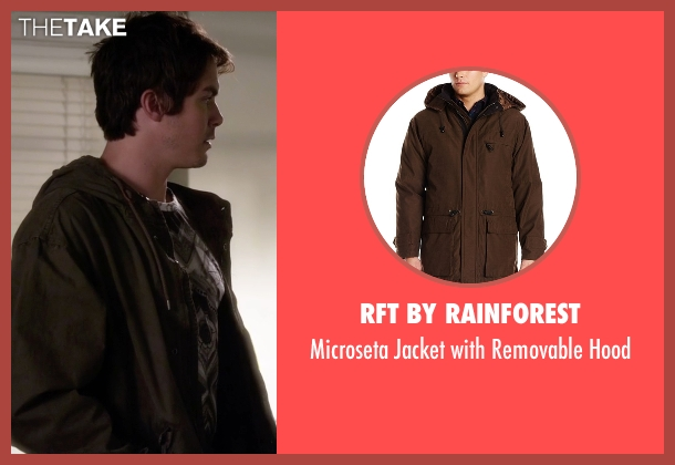RFT by Rainforest brown hood from Pretty Little Liars seen with Caleb Rivers (Tyler Blackburn)