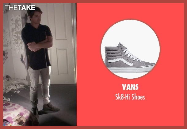 Vans gray shoes from Pretty Little Liars seen with Caleb Rivers (Tyler Blackburn)