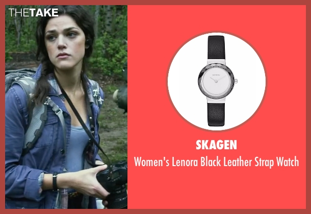 Skagen black watch from Blair Witch seen with Callie Hernandez (Lisa)
