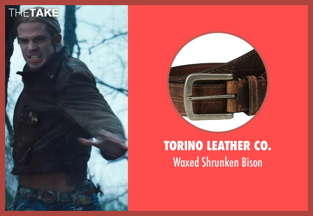 Torino Leather Co. brown bison from Twilight seen with Cam Gigandet (James)