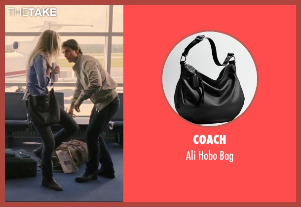 Coach black bag from Knight and Day seen with Cameron Diaz (June Havens)