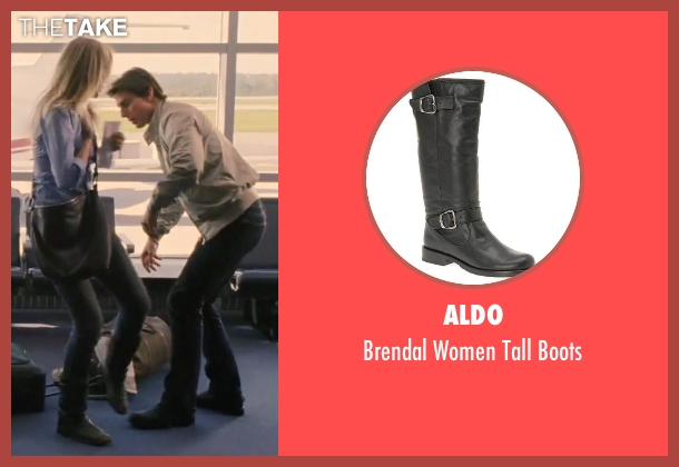 Aldo black boots from Knight and Day seen with Cameron Diaz (June Havens)