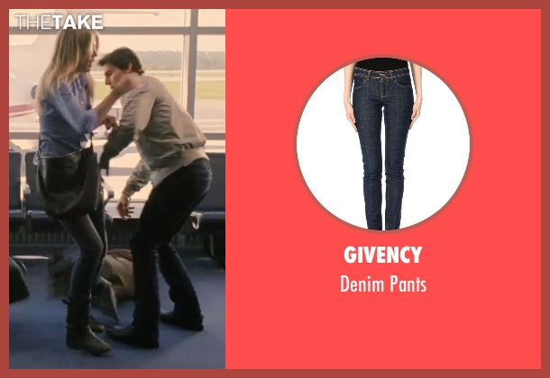 Givency blue pants from Knight and Day seen with Cameron Diaz (June Havens)