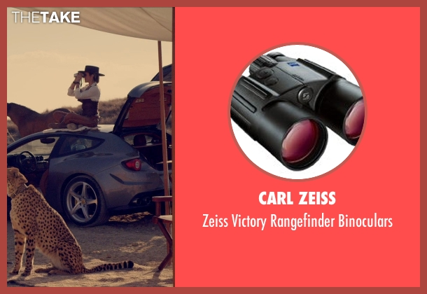 Carl Zeiss binoculars from The Counselor seen with Cameron Diaz (Malkina)