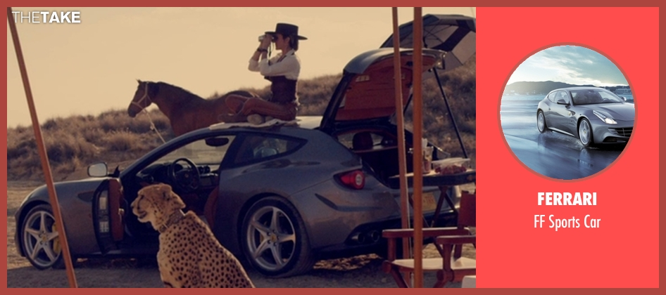 Ferrari car from The Counselor seen with Cameron Diaz (Malkina)