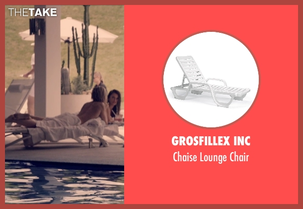 Grosfillex Inc chair from The Counselor seen with Cameron Diaz (Malkina)