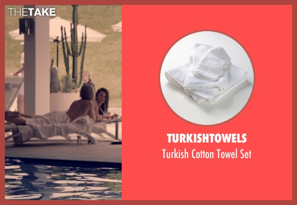 Turkishtowels set from The Counselor seen with Cameron Diaz (Malkina)