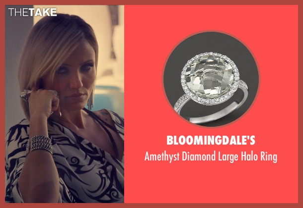 Bloomingdale's white ring from The Counselor seen with Cameron Diaz (Malkina)