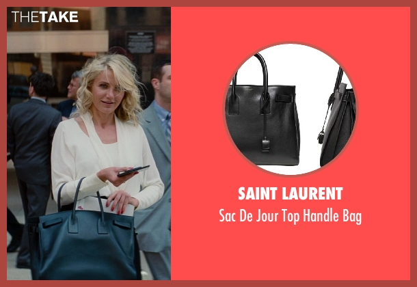 Saint Laurent black bag from The Other Woman seen with Cameron Diaz (Carly Whitten)