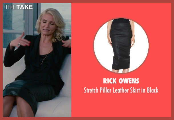 Rick Owens black black from The Other Woman seen with Cameron Diaz (Carly Whitten)
