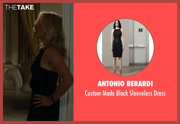Antonio Berardi black dress from The Other Woman seen with Cameron Diaz (Carly Whitten)
