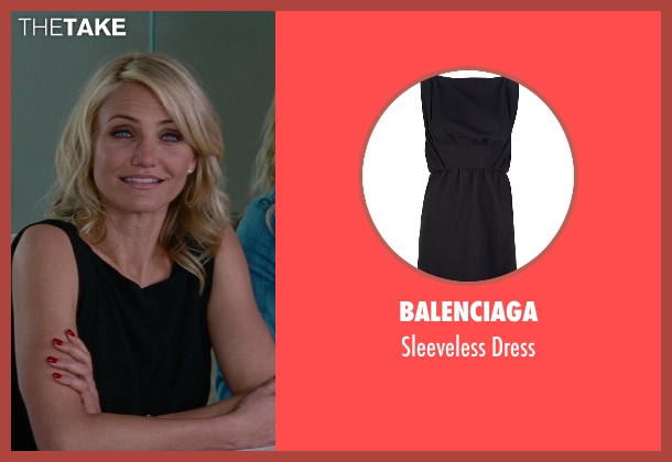 Balenciaga black dress from The Other Woman seen with Cameron Diaz (Carly Whitten)