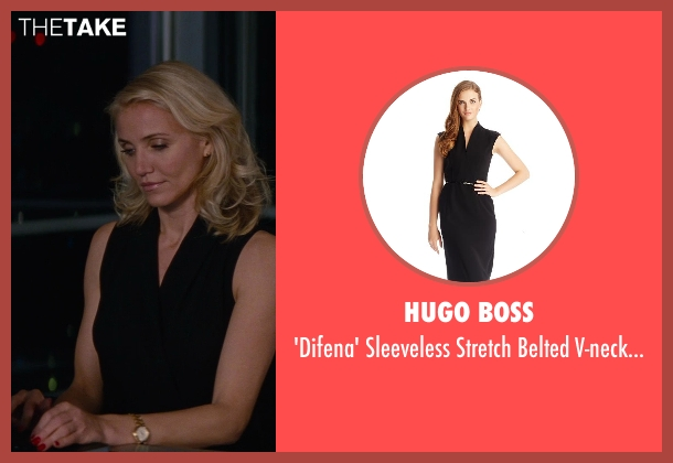 Hugo Boss black dress from The Other Woman seen with Cameron Diaz (Carly Whitten)