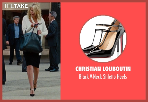 Christian Louboutin black heels from The Other Woman seen with Cameron Diaz (Carly Whitten)
