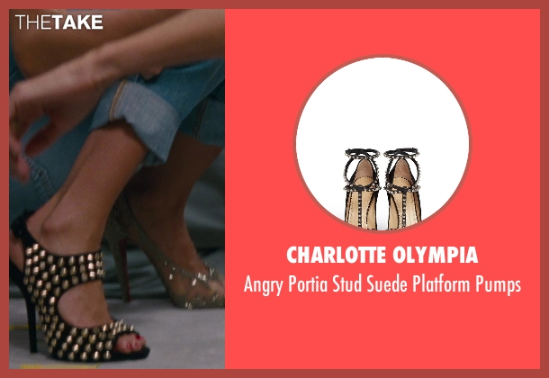 Charlotte Olympia black pumps from The Other Woman seen with Cameron Diaz (Carly Whitten)