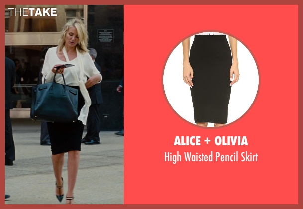 Alice + Olivia black skirt from The Other Woman seen with Cameron Diaz (Carly Whitten)