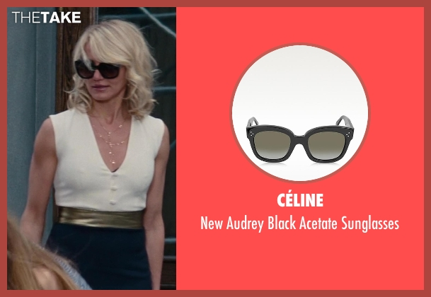 Céline black sunglasses from The Other Woman seen with Cameron Diaz (Carly Whitten)