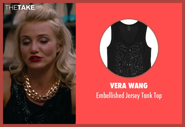 Vera Wang black top from The Other Woman seen with Cameron Diaz (Carly Whitten)