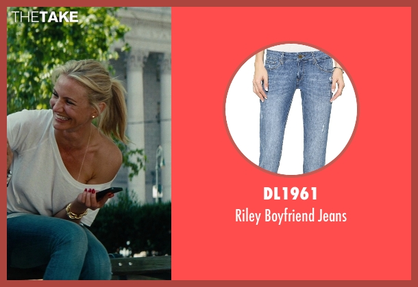 DL1961 blue jeans from The Other Woman seen with Cameron Diaz (Carly Whitten)