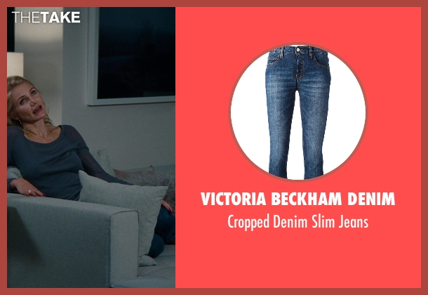 Victoria Beckham Denim blue jeans from The Other Woman seen with Cameron Diaz (Carly Whitten)