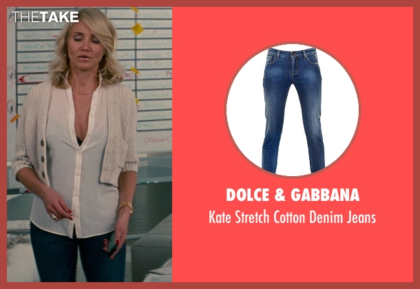 Dolce & Gabbana blue jeans from The Other Woman seen with Cameron Diaz (Carly Whitten)