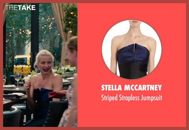 Stella Mccartney blue jumpsuit from The Other Woman seen with Cameron Diaz (Carly Whitten)