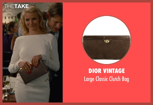 Dior Vintage brown bag from The Other Woman seen with Cameron Diaz (Carly Whitten)