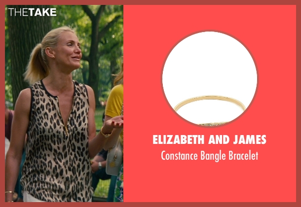 Elizabeth and James gold bracelet from The Other Woman seen with Cameron Diaz (Carly Whitten)