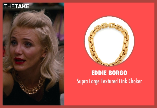 Eddie Borgo gold choker from The Other Woman seen with Cameron Diaz (Carly Whitten)