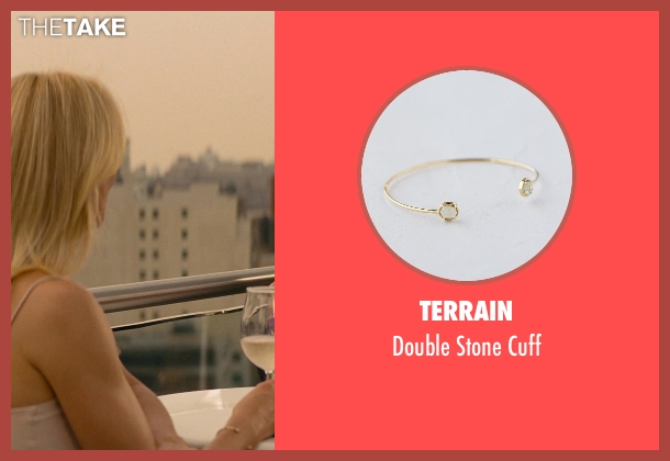 Terrain gold cuff from The Other Woman seen with Cameron Diaz (Carly Whitten)