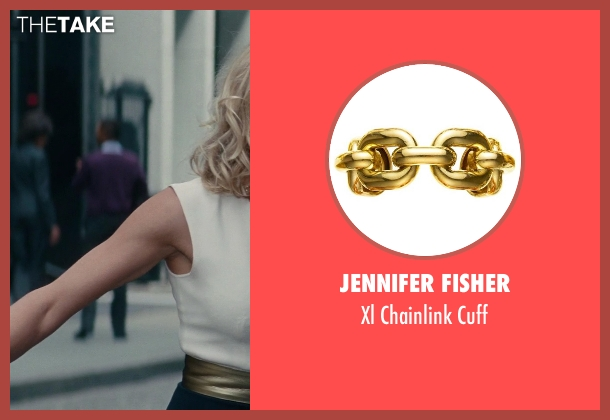 Jennifer Fisher gold cuff from The Other Woman seen with Cameron Diaz (Carly Whitten)